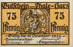 Germany, 75 Pfennig, 1320.4a