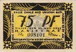 Germany, 75 Pfennig, 1324.1d
