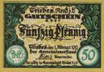 Germany, 50 Pfennig, T26.5c