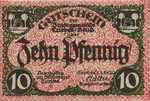 Germany, 10 Pfennig, T26.7b
