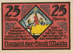 Germany, 25 Pfennig, 1391.2