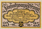 Germany, 25 Pfennig, W39.1b