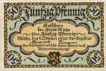 Germany, 50 Pfennig, W39.1c
