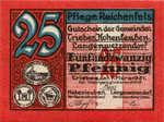 Germany, 25 Pfennig, R21.1d