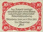 Germany, 10 Pfennig, N51.6b