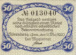 Germany, 50 Pfennig, N51.6d