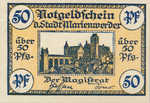 Germany, 50 Pfennig, M10.2c