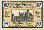 Germany, 50 Pfennig, M10.2c