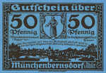 Germany, 50 Pfennig, 911.1