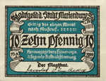 Germany, 10 Pfennig, 870.1