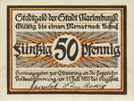 Germany, 50 Pfennig, 870.1