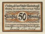 Germany, 50 Pfennig, 870.1