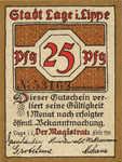 Germany, 25 Pfennig, 757.2
