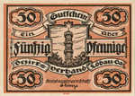 Germany, 50 Pfennig, L58.6d