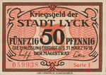 Germany, 50 Pfennig, L77.1b