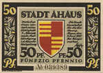Germany, 50 Pfennig, 3.1a