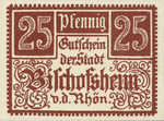 Germany, 25 Pfennig, 107.1