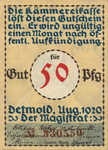 Germany, 50 Pfennig, 268.2c