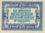 Germany, 5 Pfennig, E13.10