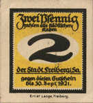 Germany, 2 Pfennig, F19.8b