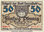 Germany, 50 Pfennig, H31.2b