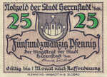 Germany, 25 Pfennig, H31.2a