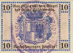 Germany, 10 Pfennig, H27.5a