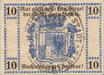 Germany, 10 Pfennig, H27.5b
