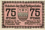 Germany, 75 Pfennig, 592.1