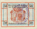 Germany, 50 Pfennig, H27.5f