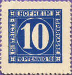 Germany, 10 Pfennig, H47.1t