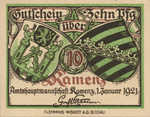 Germany, 10 Pfennig, K5.4a