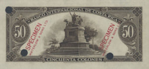 Costa Rica, 50 Colones, P183ct