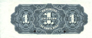 Costa Rica, 1 Colon, P143s