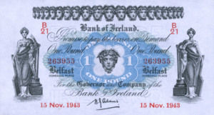 Ireland, Northern, 1 Pound, P55b
