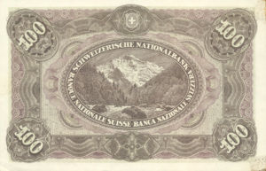 Switzerland, 100 Franc, P9ct
