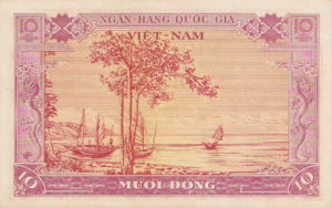 Vietnam, South, 10 Dong, P3a, NBV B5a