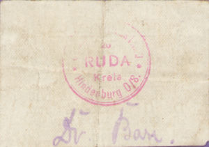 Germany, 1/2 Mark, R52.7