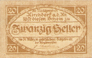 Austria, 20 Heller, FS 445Ib