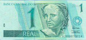 Brazil, 1 Real, P243a
