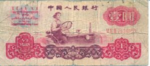 China, Peoples Republic, 1 Yuan, P874b