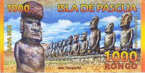 Easter Island, 1,000 Rongo,