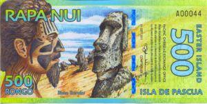 Easter Island, 500 Rongo,
