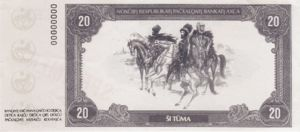 Chechnya, 20 Tüma,