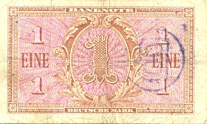 Germany - Federal Republic, 1 Deutsche Mark, P2b