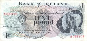 Ireland, Northern, 1 Pound, P56
