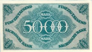 German States, 50,000 Mark, S959