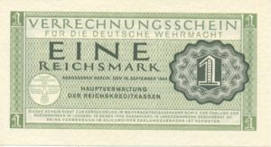 Germany, 1 Reichsmark, M38