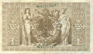Germany, 1,000 Mark, P45a G