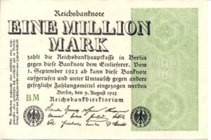 Germany, 1,000,000 Mark, P102d